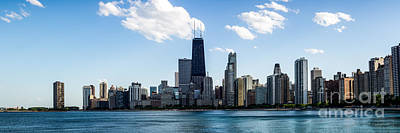 Hancock Building Wall Art - Photograph - Chicago Panorama Skyline by Paul Velgos