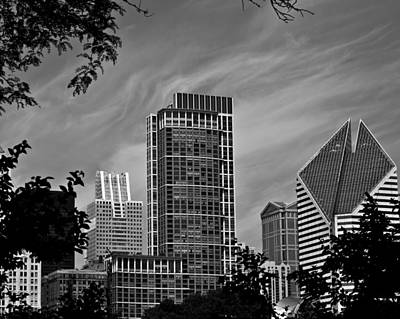 Photograph - Chicago Rising by John Pike