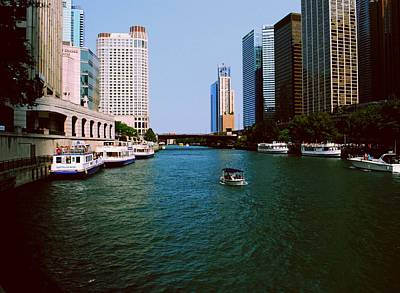 Photograph - Chicago River by Gary Wonning