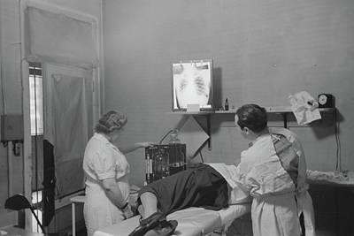Chicago Sanitarium, 1941 Art Print