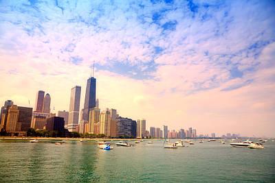 Photograph - Chicago Skyline by Alexey Stiop