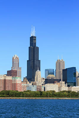 Photograph - Chicago Skyline by Fraser Hall