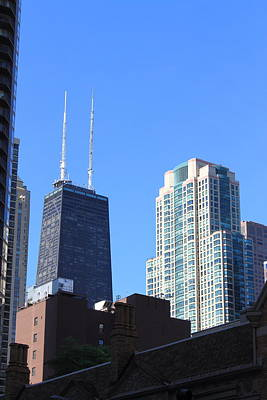 Photograph - Chicago Towers by Frank Romeo