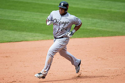 Photograph - Chicago White Sox  V Cleveland Indians by Jason Miller