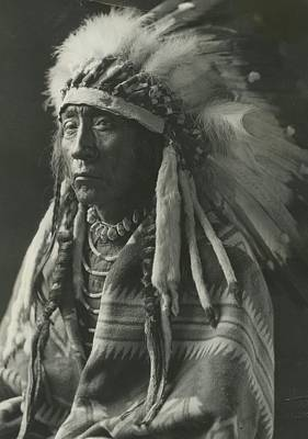 Photograph - Chief Eagle Calf by Retro Images Archive