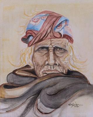 Chief Si Wa Wata Wa Art Print