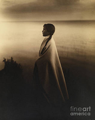 Photograph - Chief's Daughter - Nakoaktok by Celestial Images