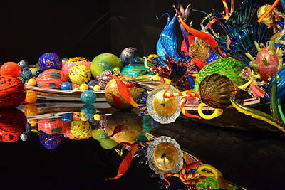 Chihuly-14 Art Print by Dean Ferreira