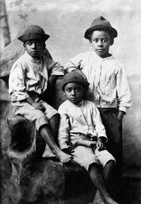 Photograph - Children, 19th Century by Granger