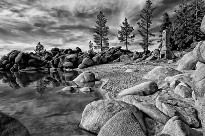 Photograph - Chimney Beach Lake Tahoe by Scott McGuire