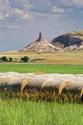 Historic Site Photograph - Chimney Rock by Jim West