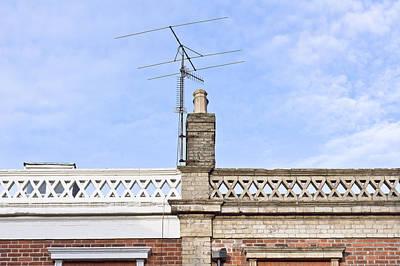Suburban Photograph - Chimney by Tom Gowanlock