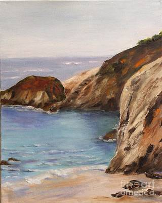 Painting - China Cove by Alice Gunter