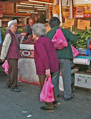 Digital Art - Chinatown Market Place by Joseph Coulombe