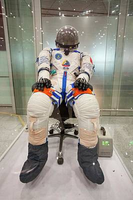 Space Suit Photograph - Chinese Astronaut Suit by Ashley Cooper
