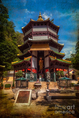 Buddhist Photograph - Chinese Temple by Adrian Evans