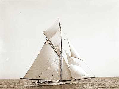 Choctaw Drawing - Choctaw, Choctaw Yacht, Yachts by Litz Collection