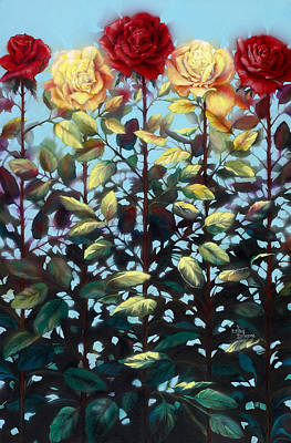 Painting - Chorus Line by Lynette Yencho