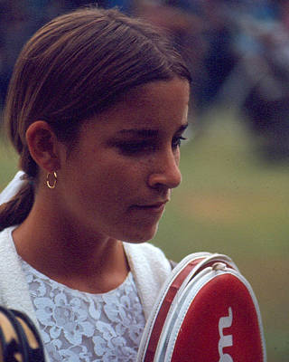 Chris Evert Art Print by Retro Images Archive
