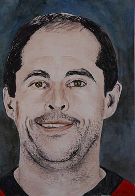 Painting - Chris Phillips by Betty-Anne McDonald