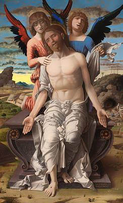 Christ As The Suffering Redeemer  Art Print