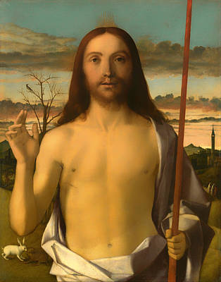Christian Artwork Painting - Christ Blessing by Mountain Dreams