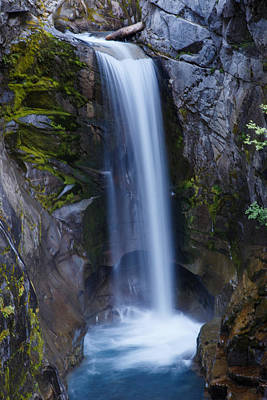 Photograph - Christine Falls by Angie Vogel