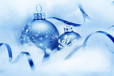 Decorate Photograph - Christmas Balls Decoration by Michal Bednarek