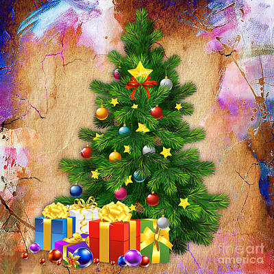 Mixed Media - Christmas Day by Marvin Blaine
