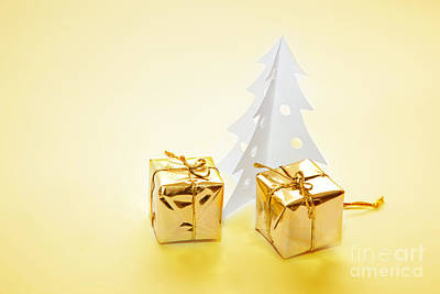 Wrap Photograph - Christmas Decorations by Michal Bednarek
