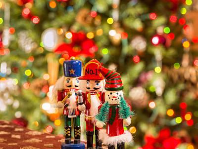 Photograph - Christmas Figures by Peter Lakomy