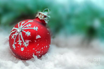 Decorate Photograph - Christmas Ornament by Michal Bednarek