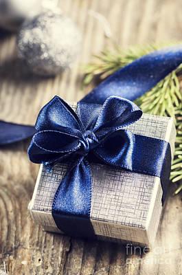 Postcards Pyrography - Christmas Present by Jelena Jovanovic