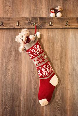 Christmas Stocking Art Print