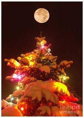 Christmas Tree Seneca Falls Art Print by Tom Romeo