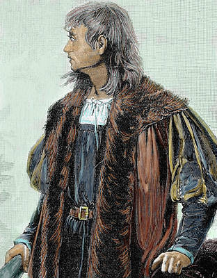 Christopher Columbus (1451-1506 Art Print by Prisma Archivo