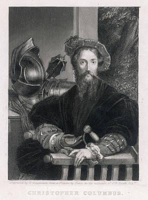 Christopher Columbus  Italian Navigator Art Print