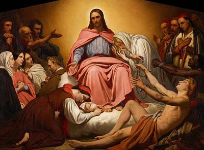 Christus Consolator Art Print by Ary Scheffer