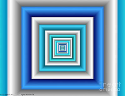 Chromodynamic 3 Art Print
