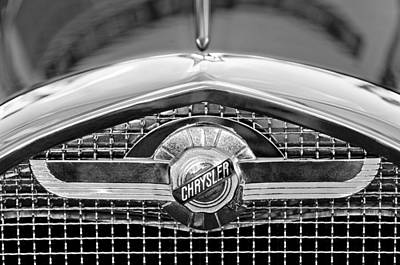 Photograph - Chrysler Grille Emblem by Jill Reger