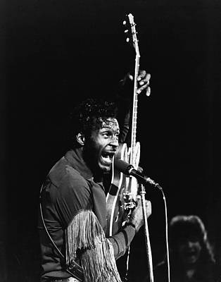 Singer Photograph - Chuck Berry by Retro Images Archive