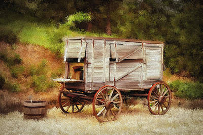 Chuck Wagon Art Print by Mary Timman