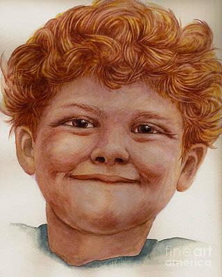 Chuckleberry Art Print by Nan Wright