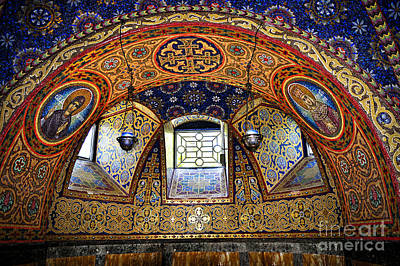 Mosaic Photograph - Church Interior by Elena Elisseeva