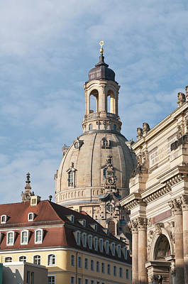 Dresden Photograph - Church Of Our Lady Dresden, Germany by Michael Defreitas