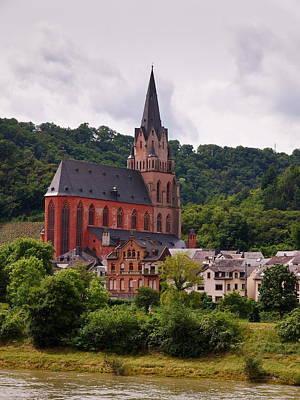 Church Of Our Lady  Oberwesel Am Rhein Art Print by Jouko Lehto