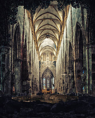 Ulm Photograph - Church Of Solitude by Ryan Wyckoff