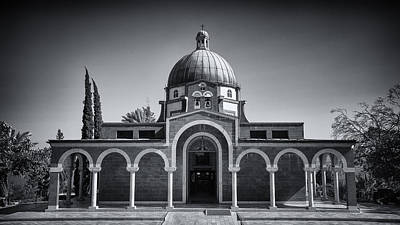 Sermon Photograph - Church Of The Beatitudes  by Stephen Stookey