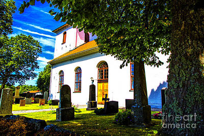 Photograph - Church View Two by Rick Bragan