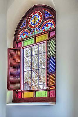 Photograph - Church Window by Maria Coulson